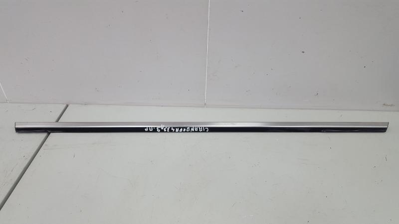 Уплотнитель стекла двери наружний Hyundai Grandeur 4 TG G6DB 3.3Л 2008 задний правый