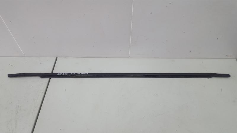 Бархотка молдинг наружний Citroen C5 DC 4HX (DW12TED4/FAP) 2.2Л 2002 передняя правая