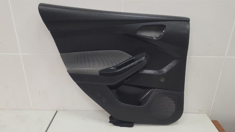 Обшивка карта двери Ford Focus 3 BK PNDA 2013 задняя левая