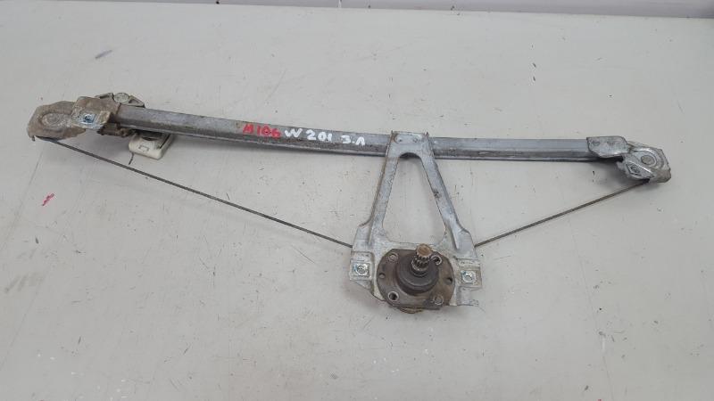 Стеклоподъемник механический Mercedes A190 W201 M102 1985 задний левый
