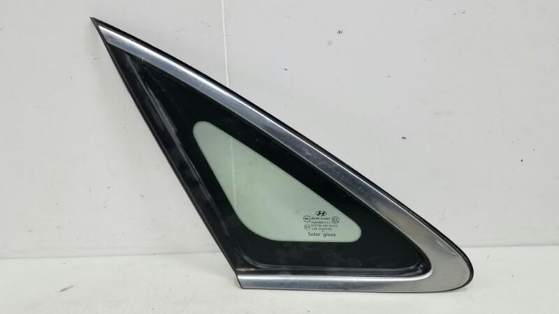 Стекло кузовное глухое Hyundai Grandeur 4 TG G6DB 3.3Л 2008 заднее левое