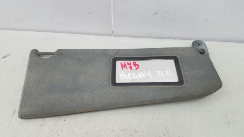 Козырек солнцезащитный Renault Megane 1 BA0 K7M 1996 передний правый