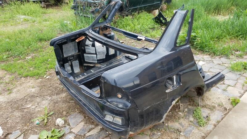 Задняя часть кузова срез Ваз Лада Приора 2170 2007