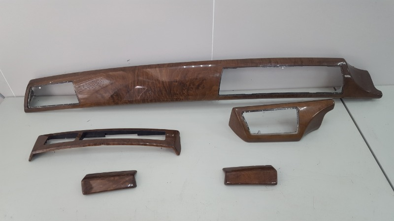 Декоративная накладка торпеды дерево Bmw 745I E65 N62B44A 4.4Л 2002