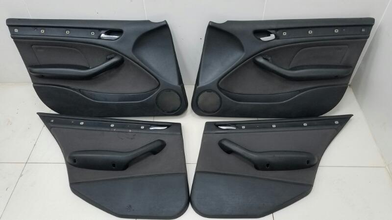 Комплект дверных карт Bmw 320D E46 M47 2000