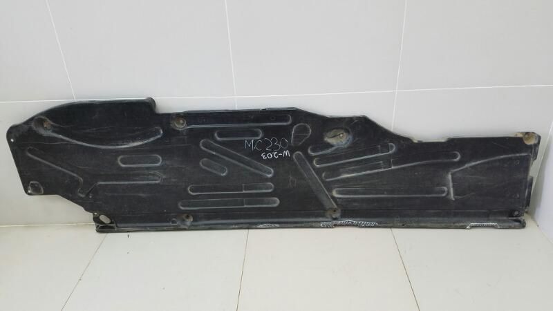 Защита днища антигравийная Mercedes C200 Kompressor W203 M111.955 2000 левая