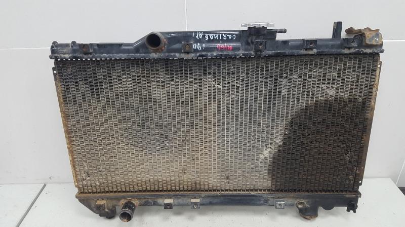 Радиатор охлаждения двс Toyota Carina E AT190 4A-FE 1992