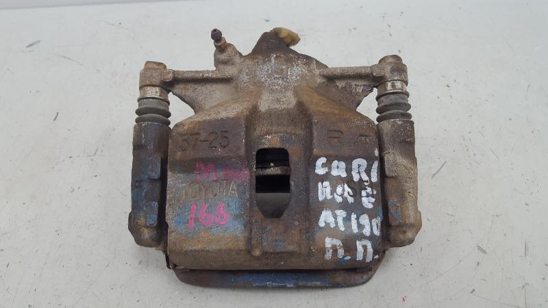 Тормозной суппорт Toyota Carina E AT190 4A-FE 1992 передний правый