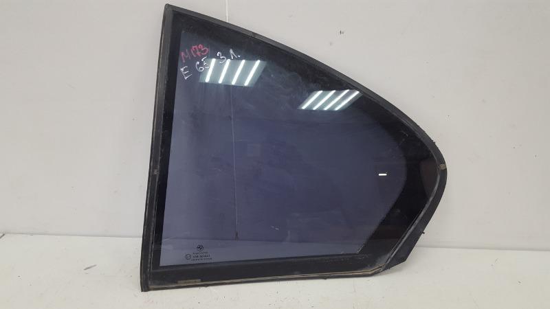 Стекло кузовное глухое Bmw 745I E65 N62B44A 4.4Л 2002 заднее левое