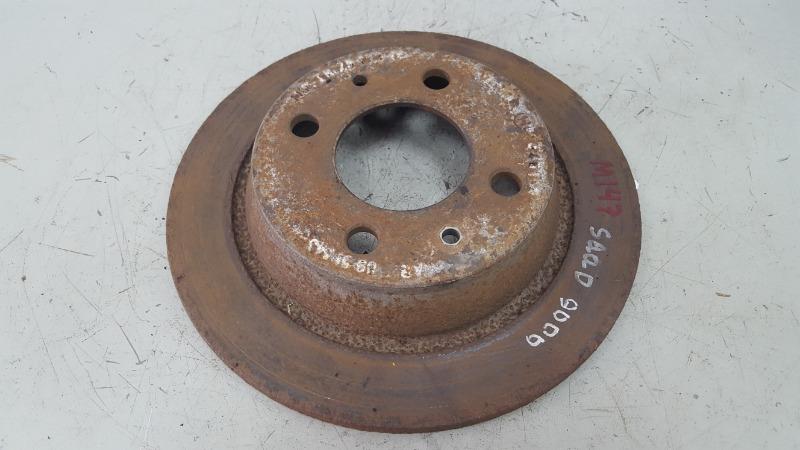 Тормозной диск Saab 9000 YS3C B202XI 1986 задний