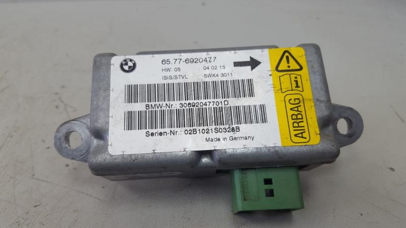 Датчик удара srs airbag Bmw 745I E65 N62B44A 4.4Л 2002
