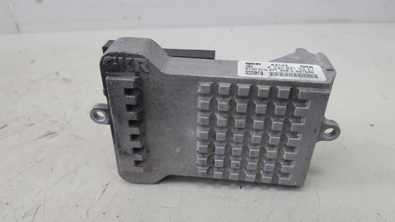 Резистор реостат печки Mercedes S600 W220 M275.950 2002