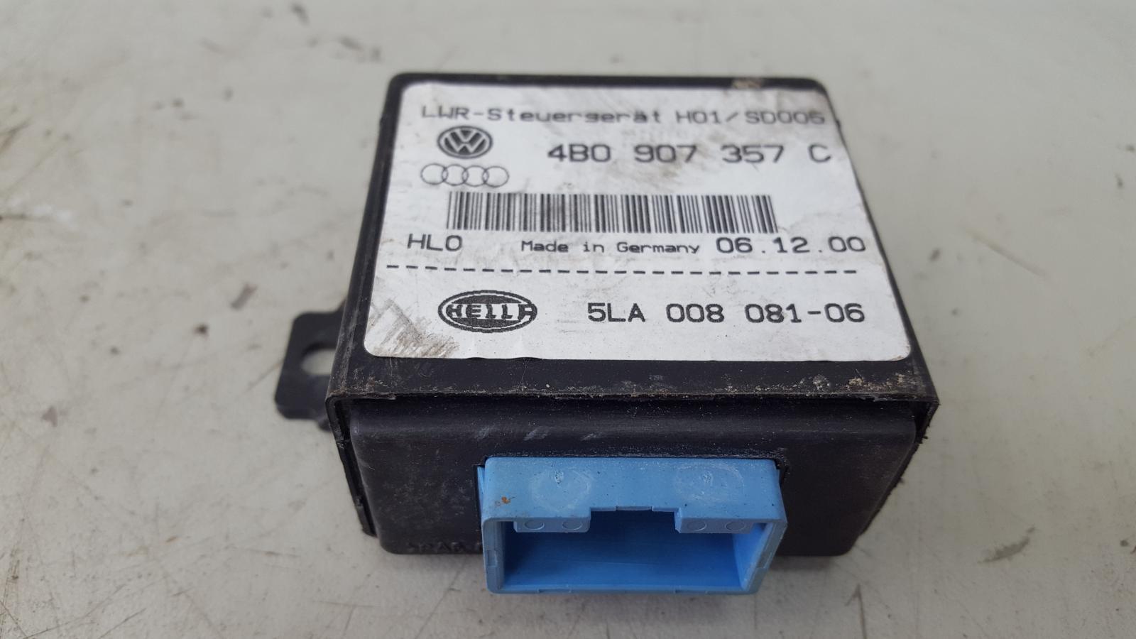 Блок управления корректором фар Audi A8 D2 AUW 2001