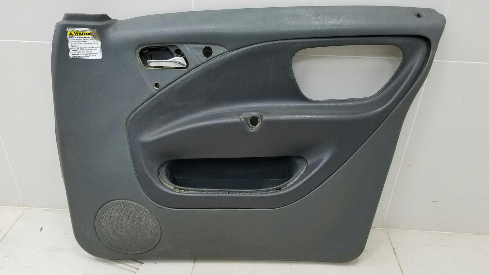 Обшивка карта двери Mercedes Ml430 W163 M113.942 1999 передняя правая