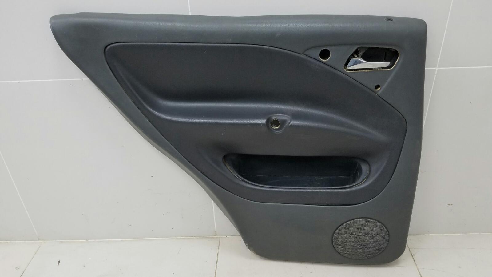Обшивка карта двери Mercedes Ml430 W163 M113.942 1999 задняя левая