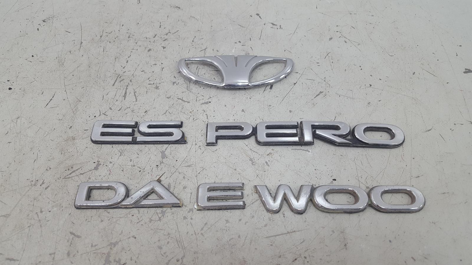 Эмблема Daewoo Espero C20LE 1998