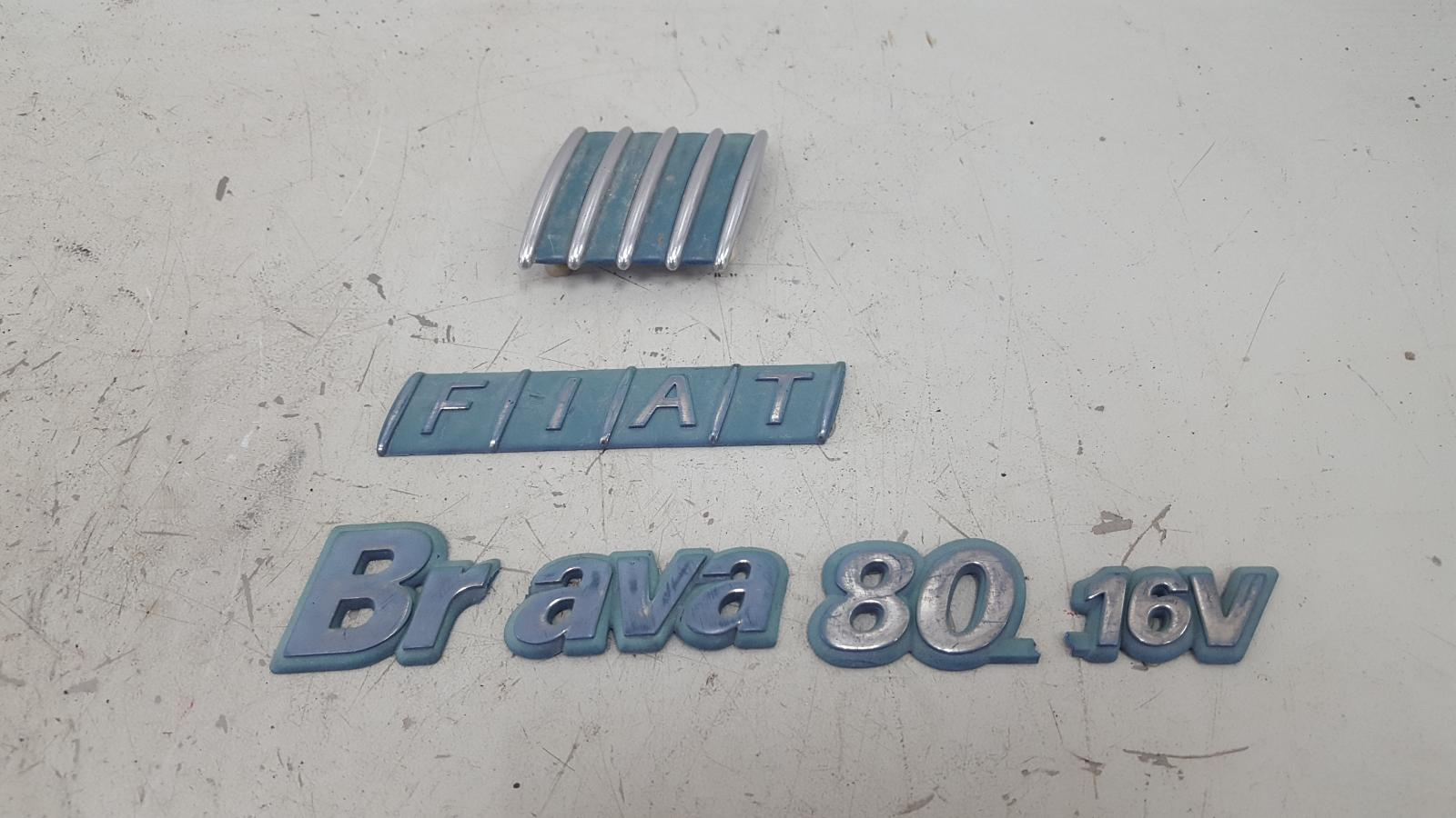 Эмблема Fiat Bravo 188A5.000 1998