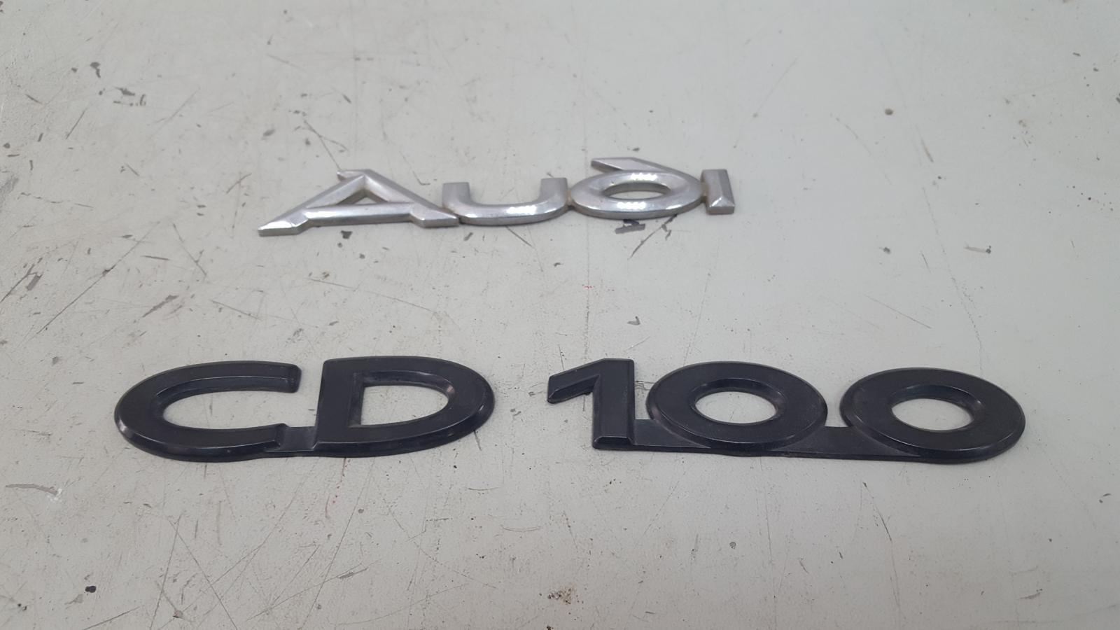 Эмблема Audi 100 44 WC 1983