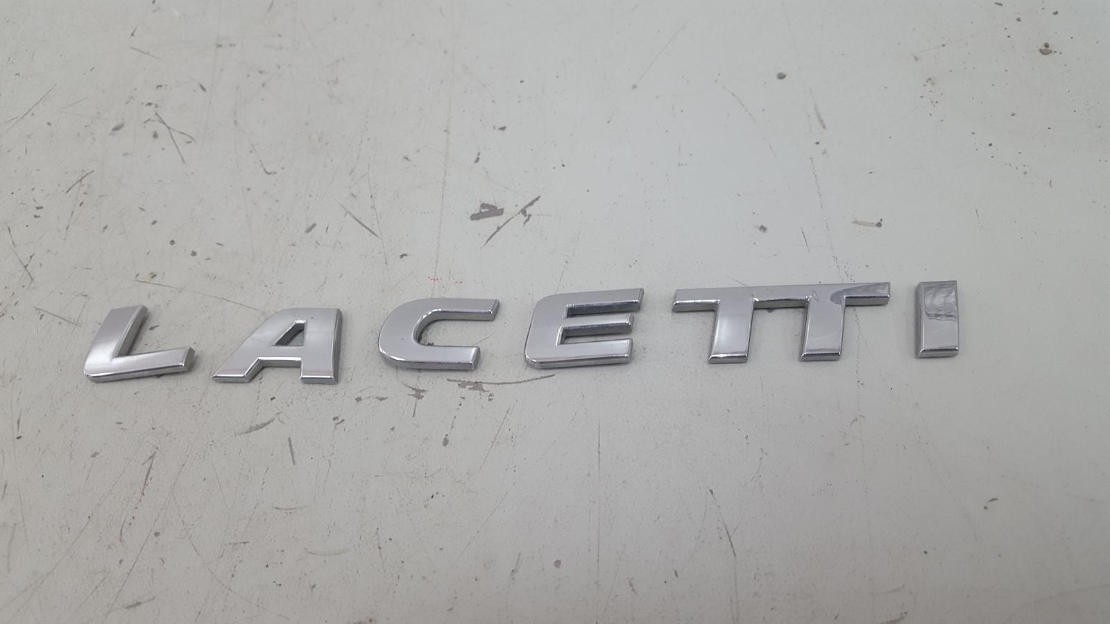 Эмблема Chevrolet Lacetti J200 F14D3 2007