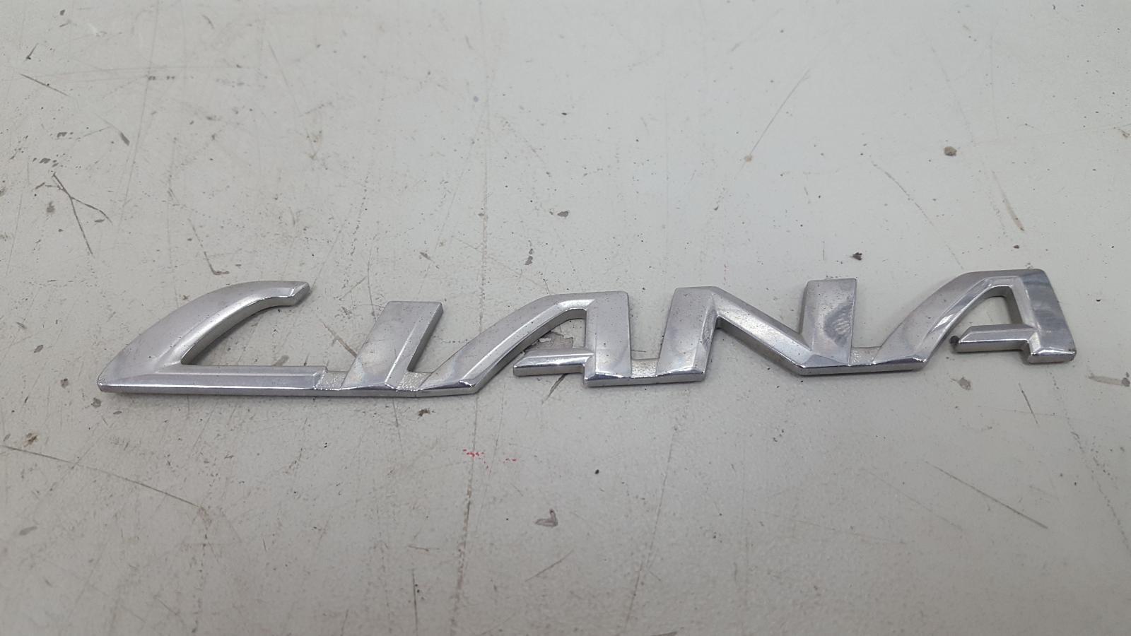 Эмблема Suzuki Liana ER M16A 2007