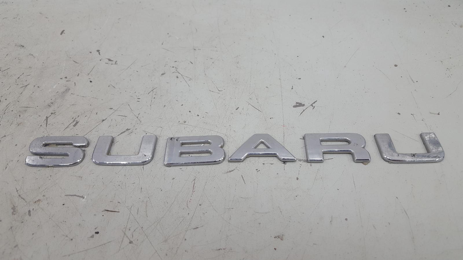 Эмблема Subaru Impreza GC EJ16E 1998