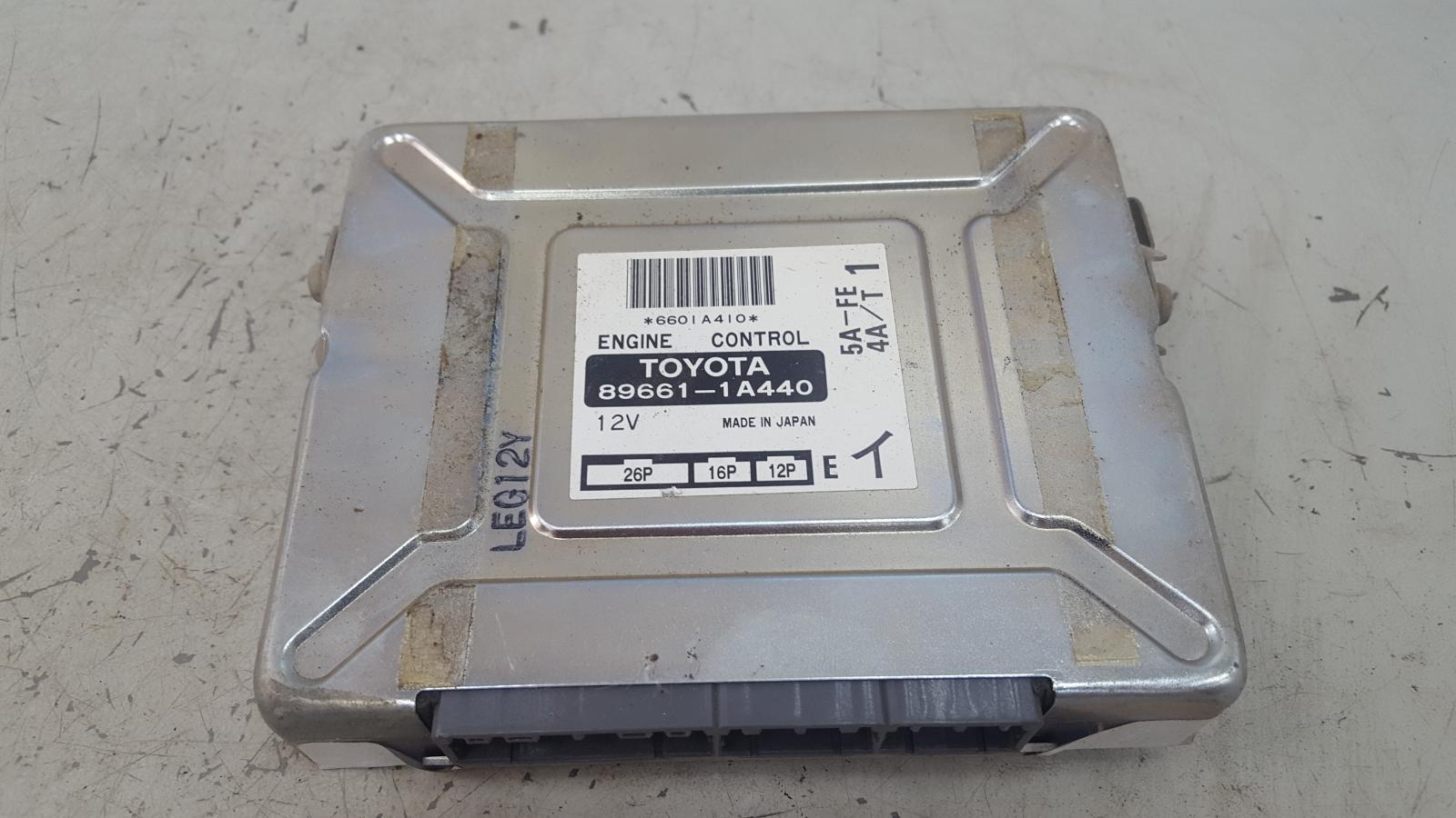 Блок управления двигателем двс эбу Toyota Corolla AE100G 5A-FE 1996