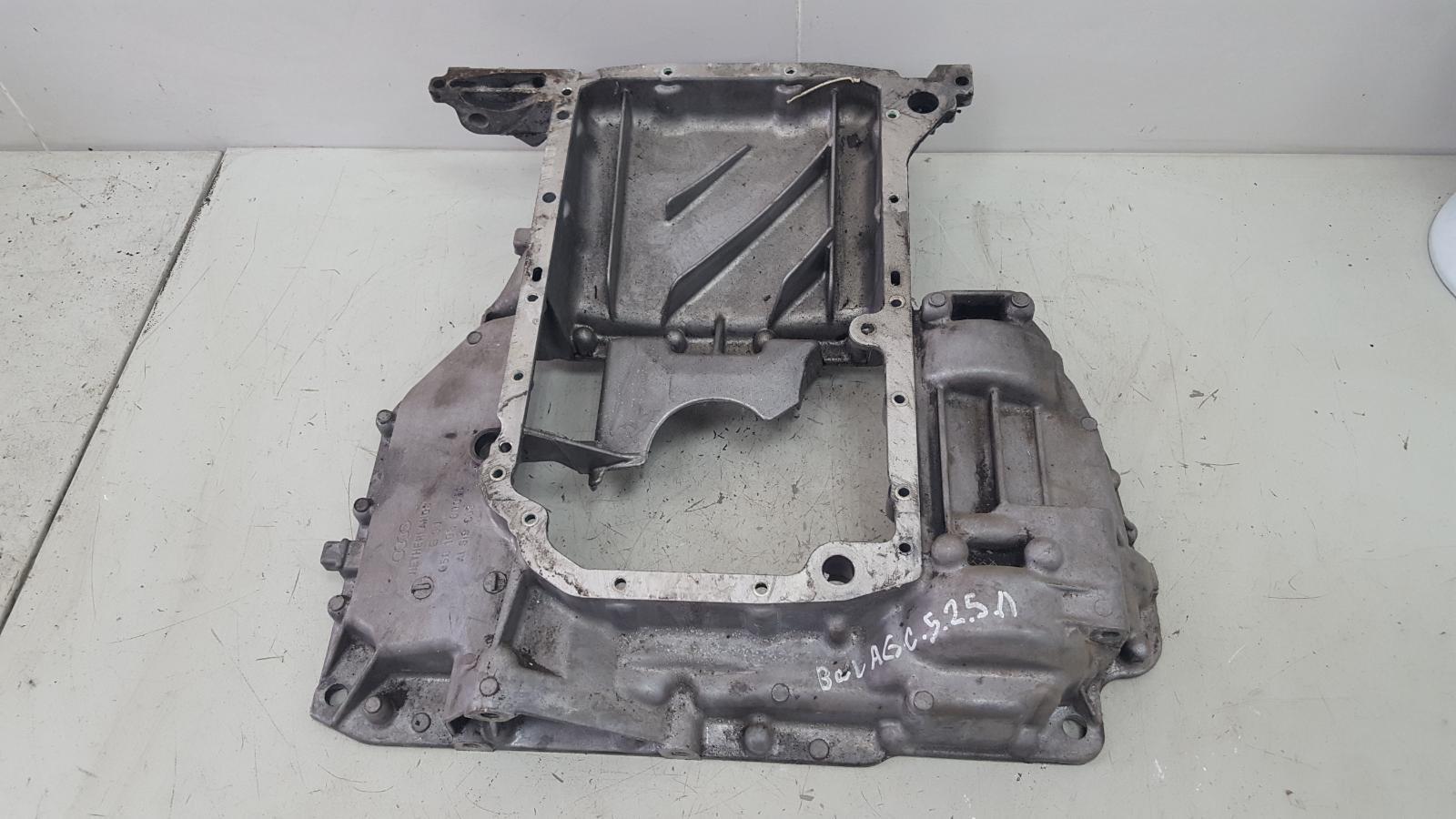 Поддон масляный картер Audi A6 C5 BAU 2.5Л ДИЗЕЛЬ