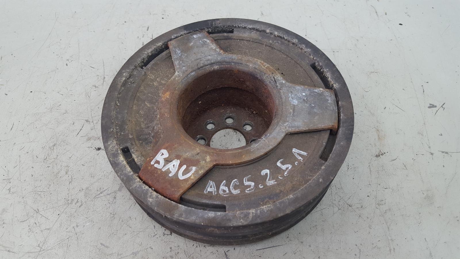 Шкив коленвала Audi A6 C5 BAU 2.5Л ДИЗЕЛЬ