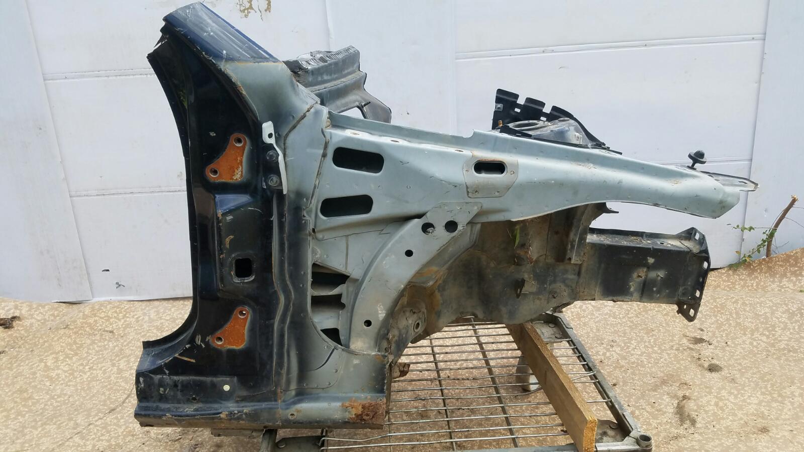 Четверть кузова Mercedes C200 Kompressor W203 M111.955 2000