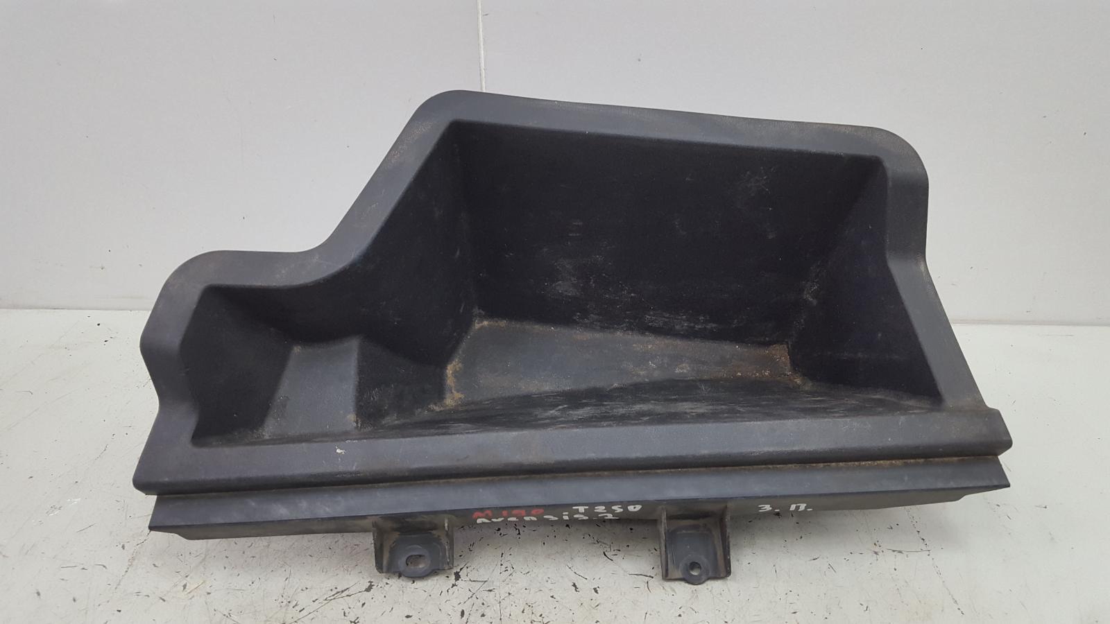 Пластик багажника карман Toyota Avensis 2 T250 1ZZ-FE 1.8Л 2008 задний правый