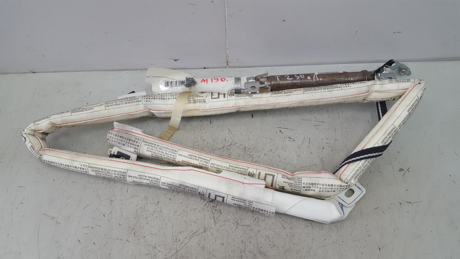 Подушка безопасности srs airbag шторка Toyota Avensis 2 T250 1ZZ-FE 1.8Л 2008 левая