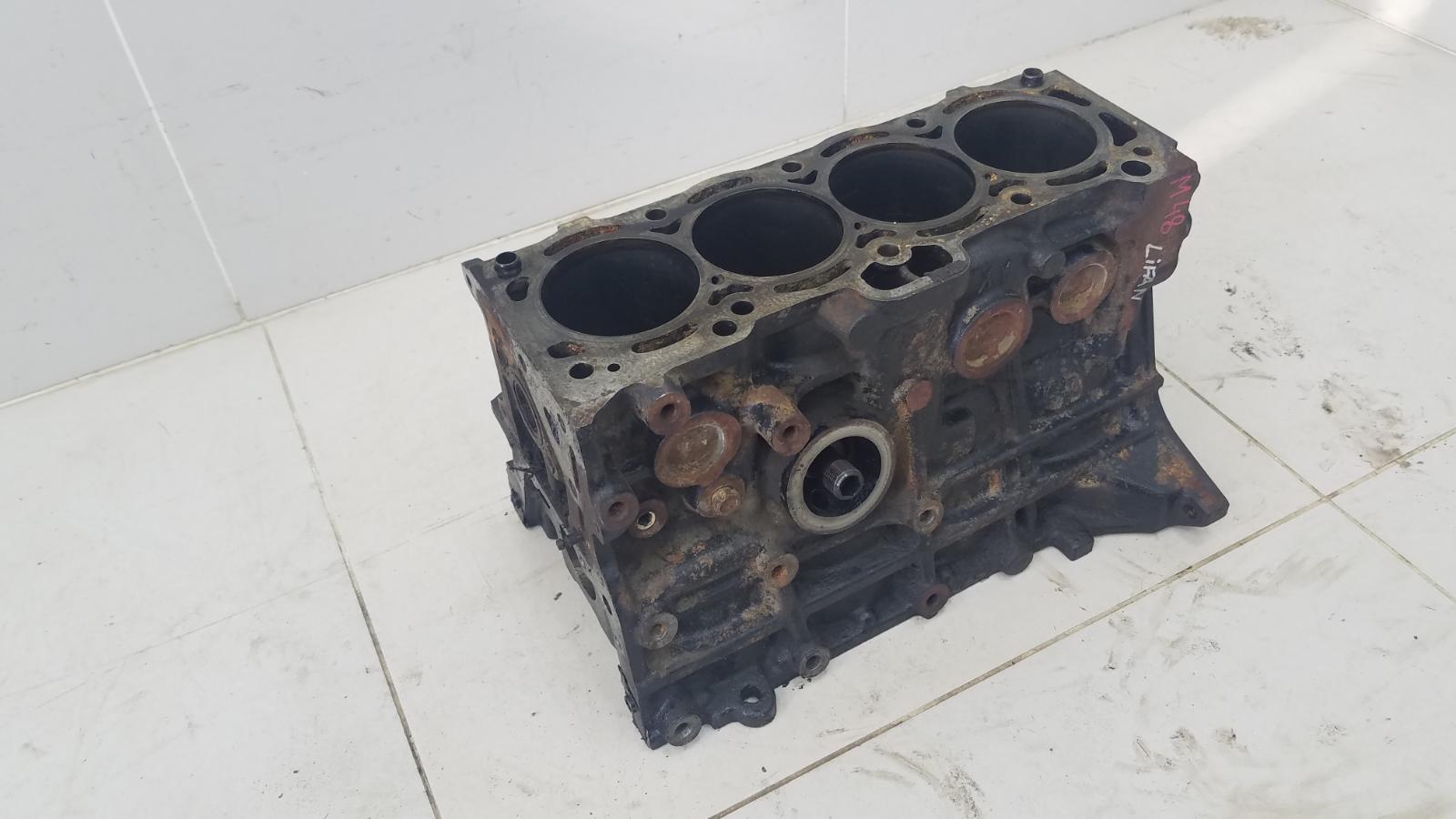 Блок двигателя двс Lifan Solano 620 LF481Q3 2011
