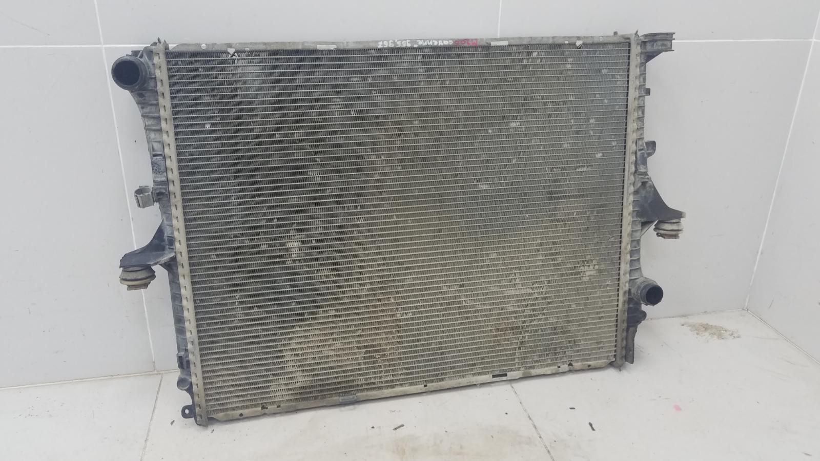 Радиатор охлаждения двс Porshe Cayenne 955 BMV M02.2Y 3.2Л 2005