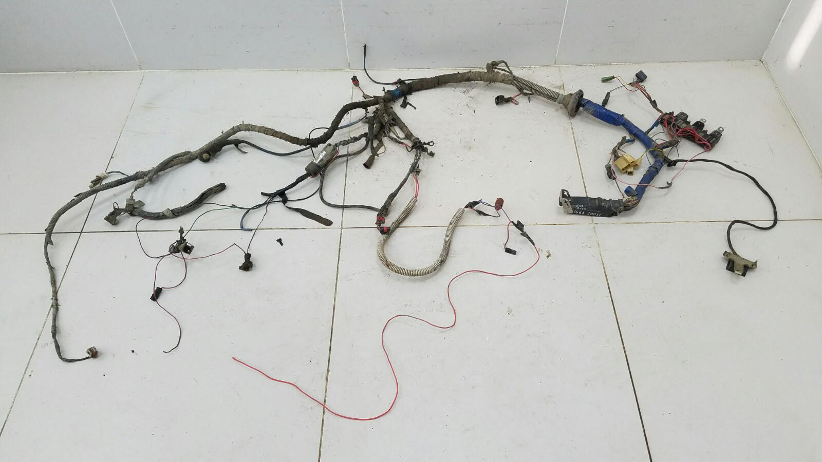 Проводка шлейф коса моторного отсека Ваз 2112 16КЛ