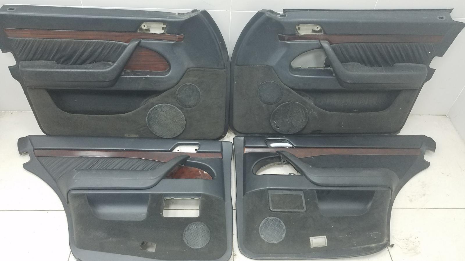 Комплект обшивок карт дверей Mercedes S420 W140 M119.971 1998