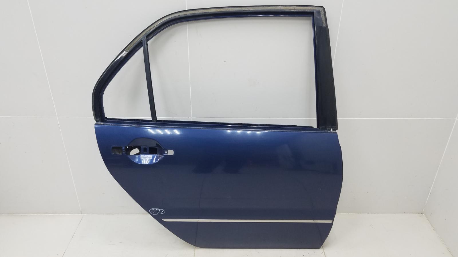 Дверь Mitsubishi Lanser Cedia CS2A 4G15 2002 задняя правая