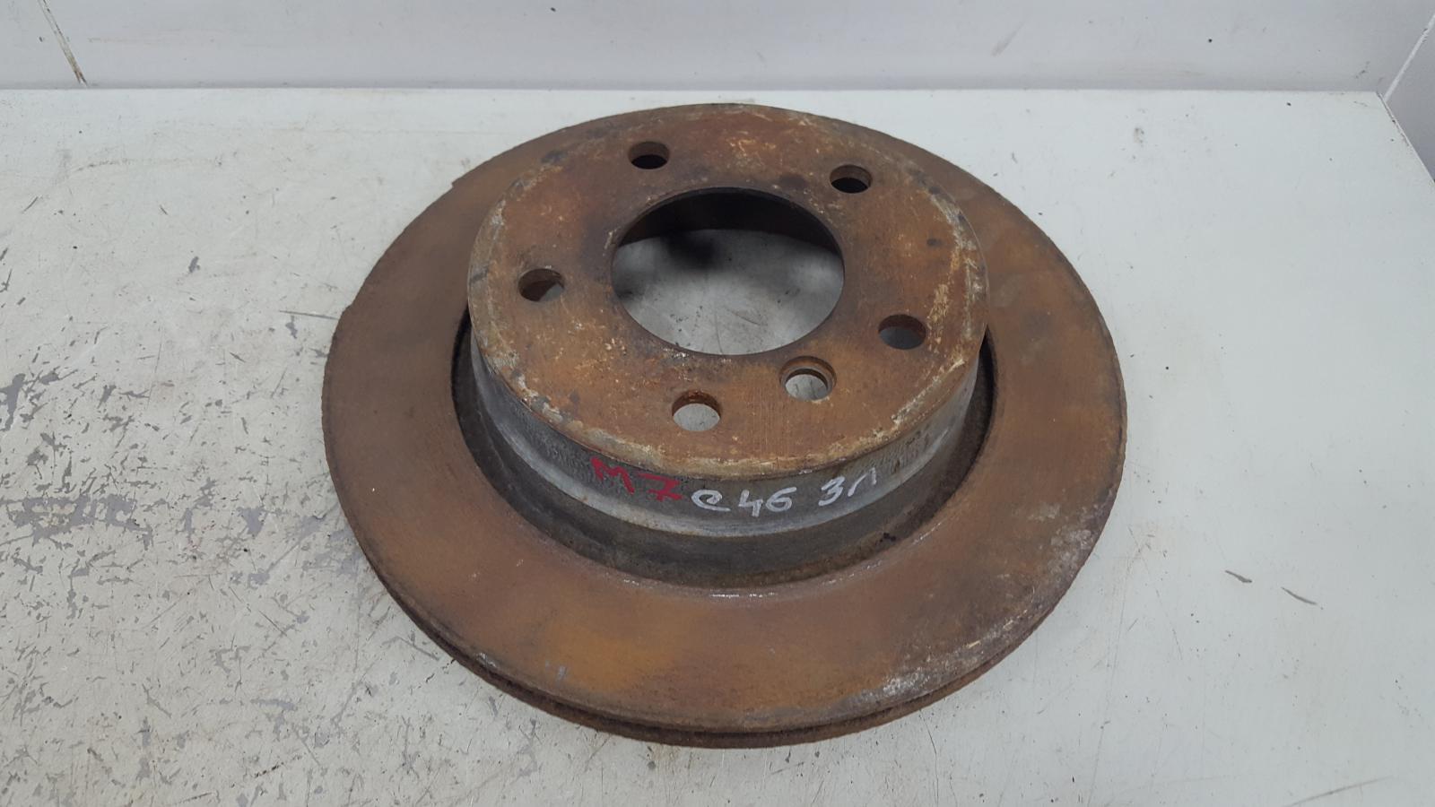 Тормозной диск Bmw 320D E46 M47 2000 задний левый