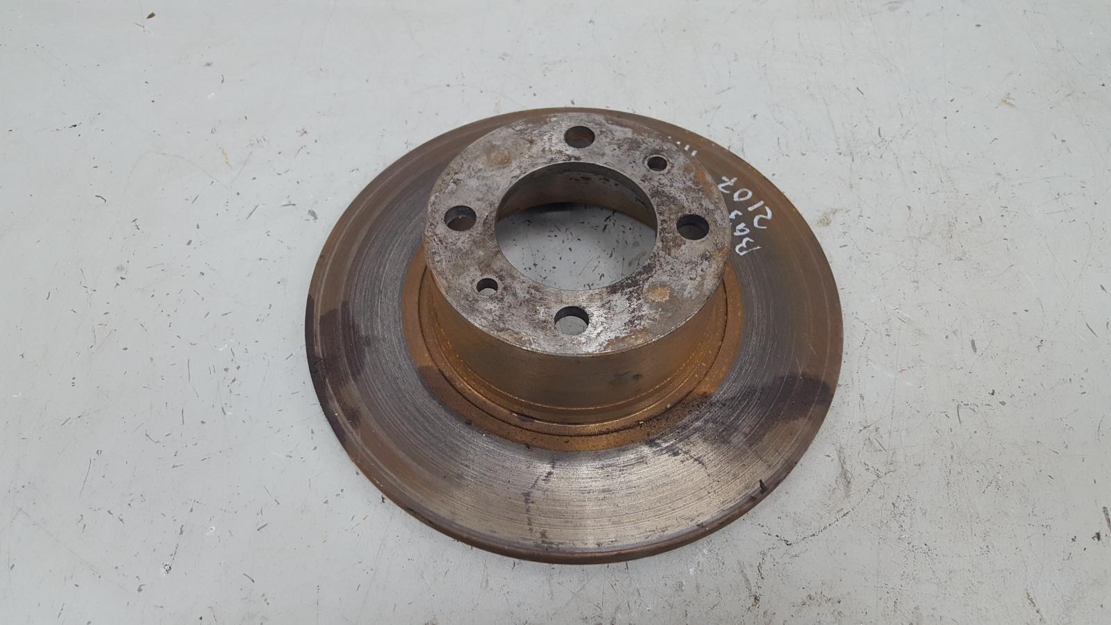 Тормозной диск Ваз 2107 Карбюратор 2005 передний левый