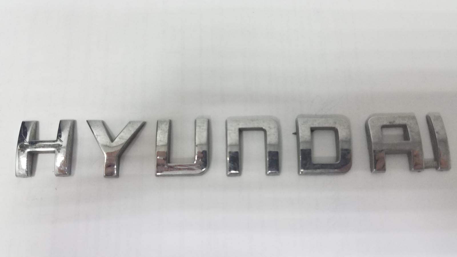 Эмблема Hyundai Getz TB G4EE 2009 задняя