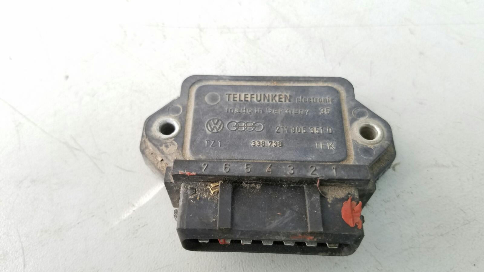 Модуль зажигания Volkswagen Golf 2 191 MH 1 1986