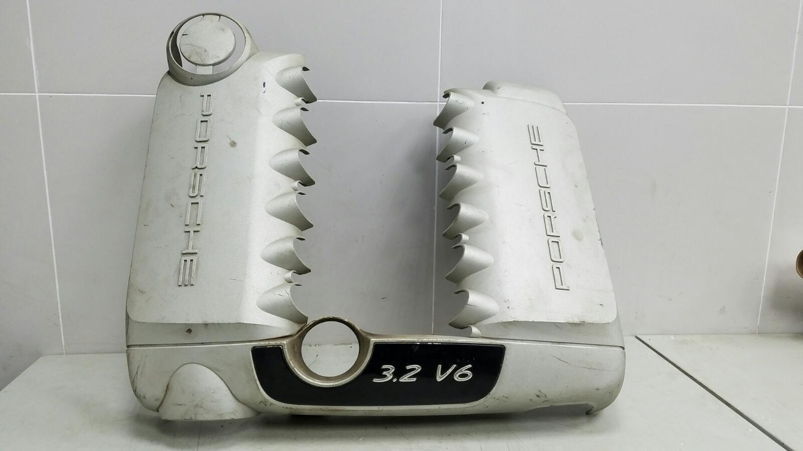 Декоративная крышка двигателя двс Porshe Cayenne 955 BMV M02.2Y 3.2Л 2005