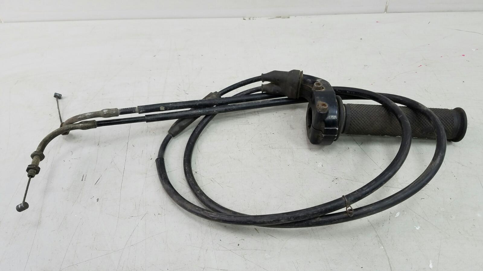 Ручка газа с тросиками Yamaha Xjr 400 1998г