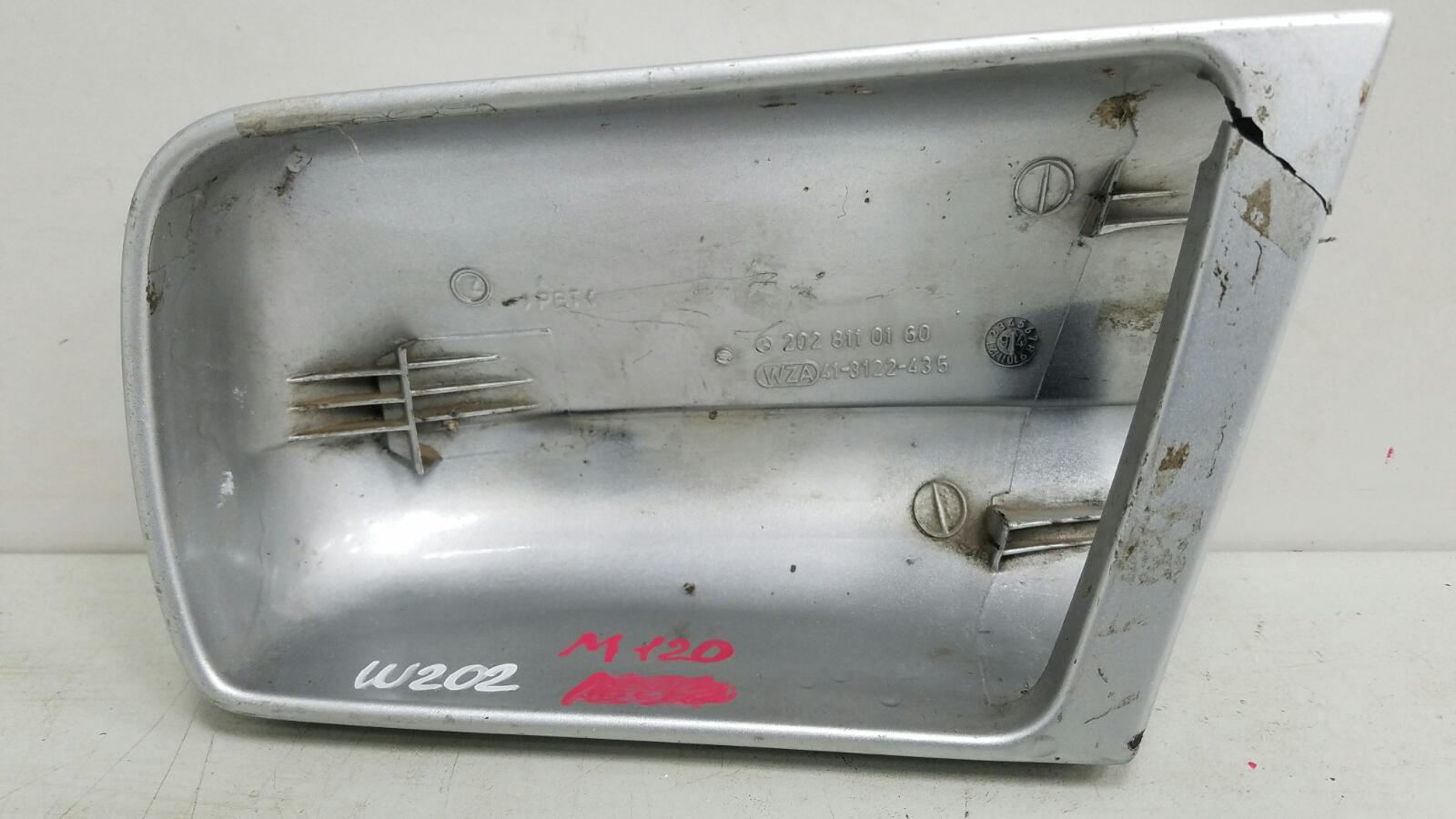 Накладка на зеркало Mercedes C280 W202 M104.941 1998 левая