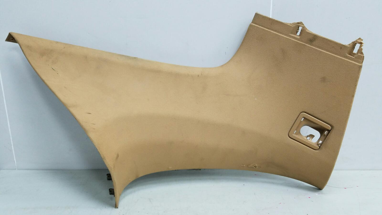 Обшивка стойки Porshe Cayenne 955 BMV M02.2Y 3.2Л 2005 задняя левая