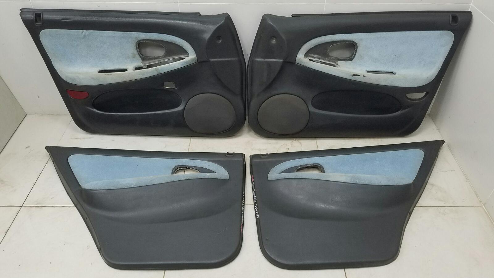 Комплект обшивок карт дверей Hyundai Sonata 2 Y3 G4EP 1998