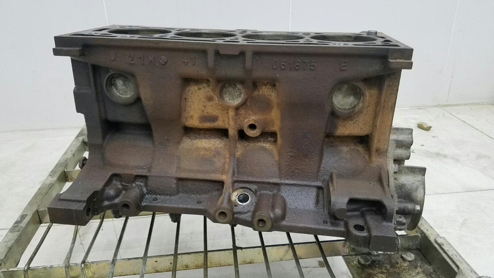 Блок двигателя двс в сборе Renault Megane 2 LM0 K4M 2005