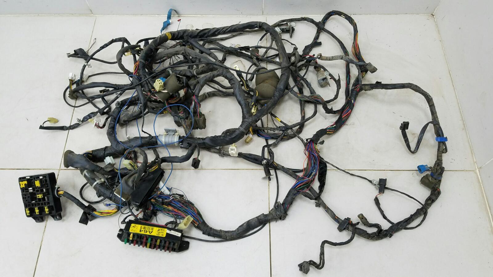 Проводка шлейф коса салона Hyundai Sonata 2 Y3 G4EP 1998