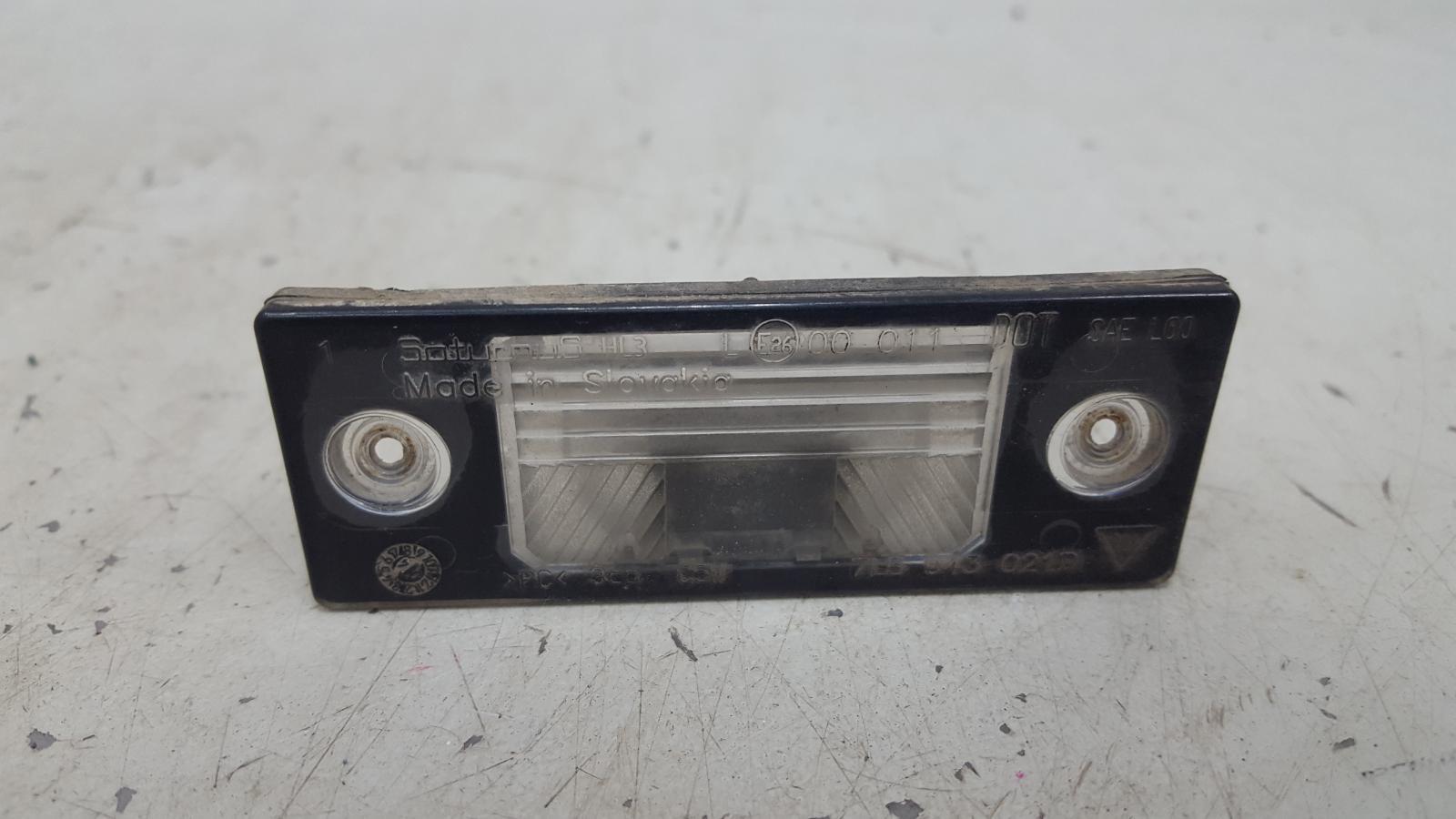 Подсветка заднего номера Porshe Cayenne 955 BMV M02.2Y 3.2Л 2005