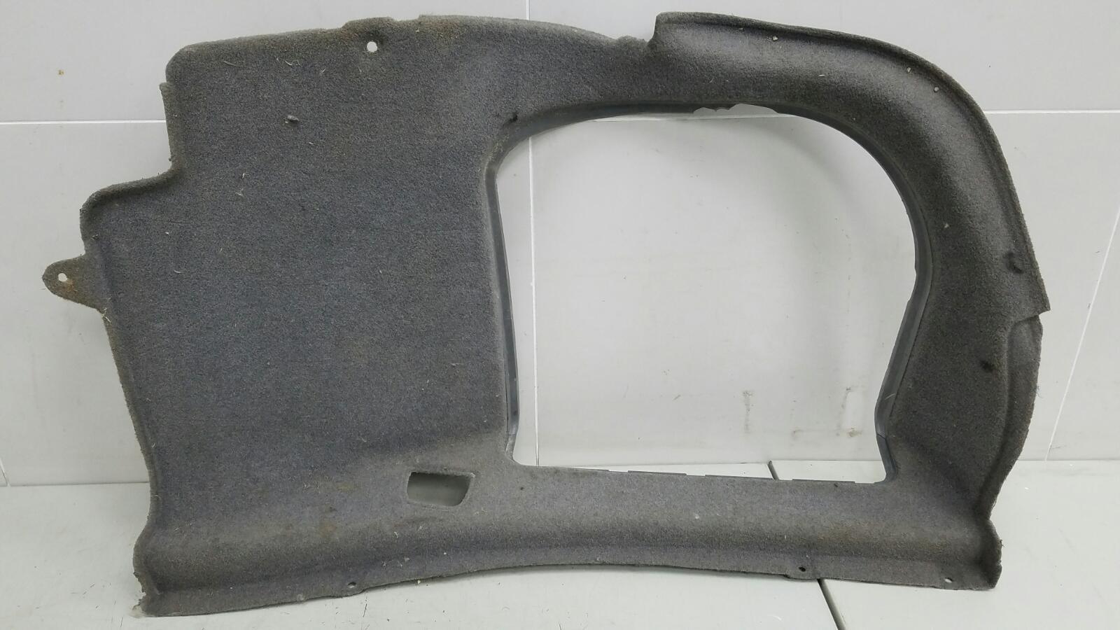 Обшивка багажника Bmw 745I E65 N62B44A 4.4Л 2002 правая