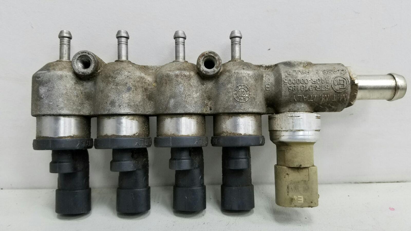Топливная рампа гбо в сборе с форсунками Lifan Solano 620 LF481Q3 2011
